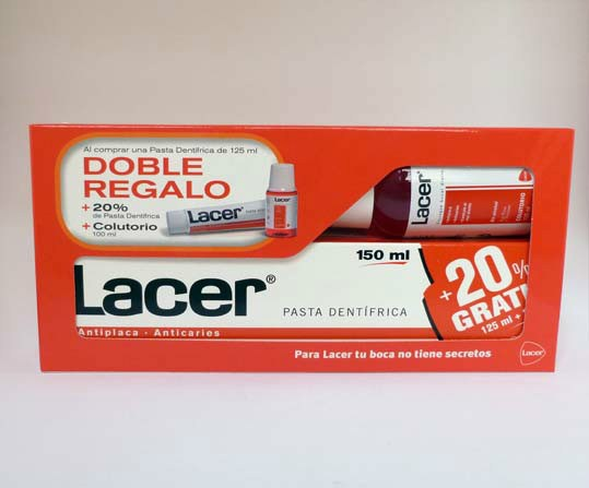 Lacer pasta dentífrica 125 ml